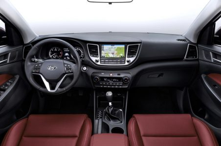 2016 Hyundai Tucson India interior