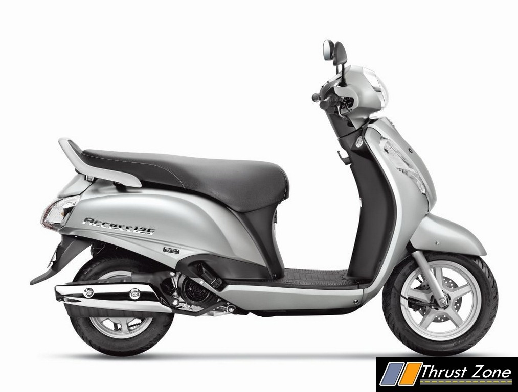2017 Suzuki Access 125 BSIV with AHO New Model Launched - Details,