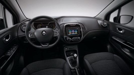 2016 Renault Kaptur interior