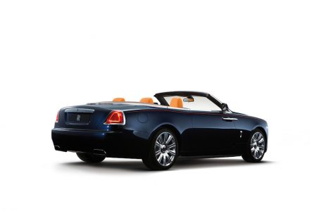 2016 Rolls Royce Dawn Rear