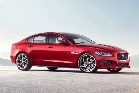 Jaguar Xe India Front