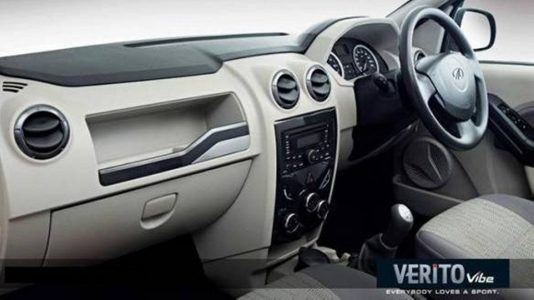 Mahindra E Verito India Interior