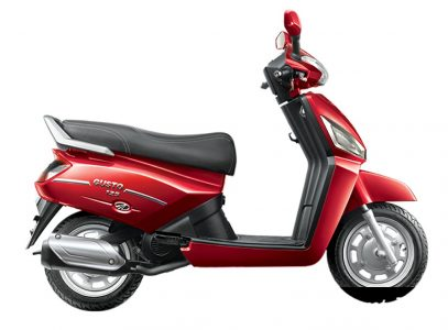 Mahindra Gusto DX Red