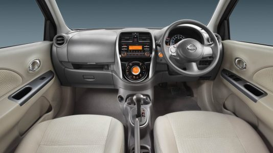 Nissan Micra automatic price interior