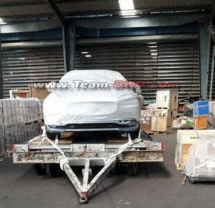 Volvo S90 India Spied