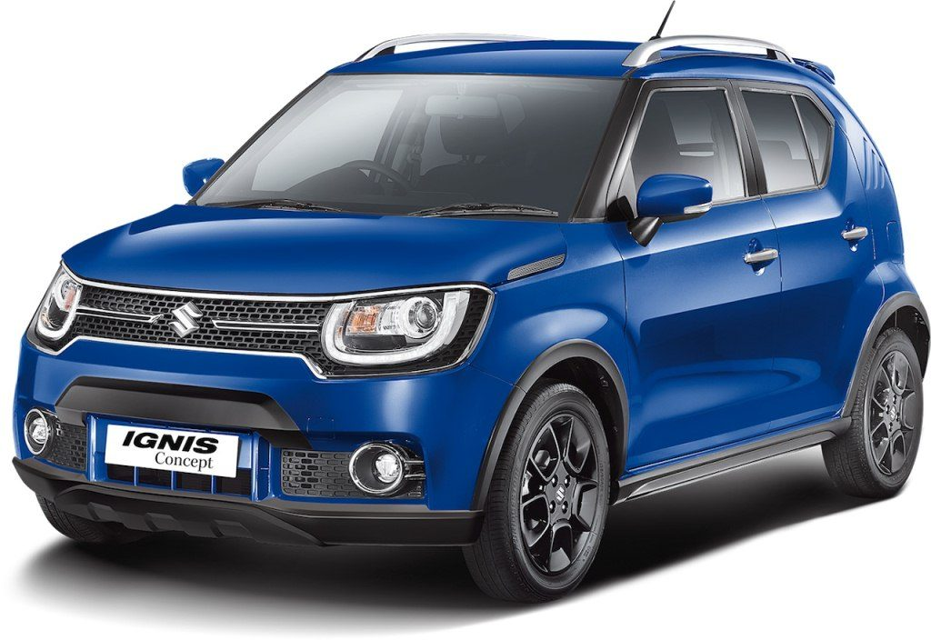maruti suzuki ignis continues testing launch set for 2017. Black Bedroom Furniture Sets. Home Design Ideas