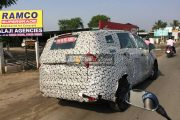 Mahindra MPV Spied Once Again - U321 Rivals The Innova And Could Come In Early 2018
