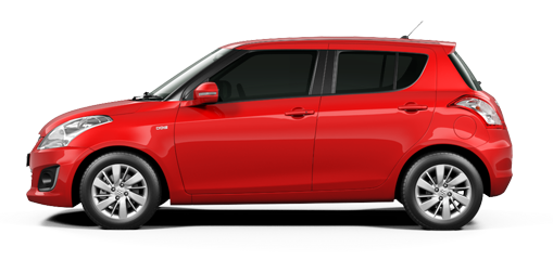 Maruti Swift DLX Red