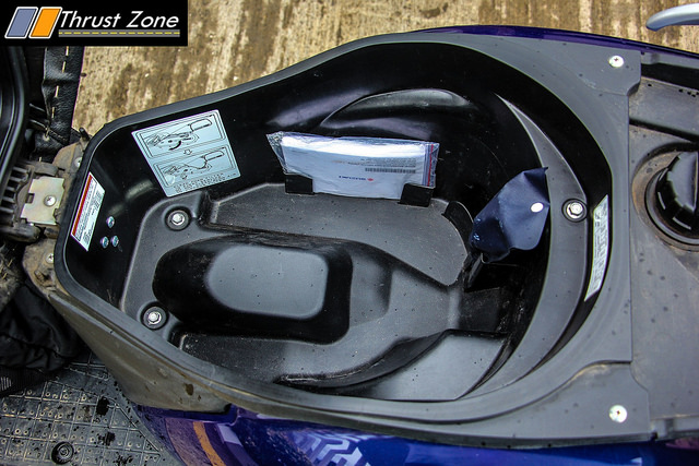 Suzuki Access Storage