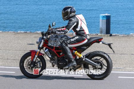2017 Ducati Monster 803 air-cooled