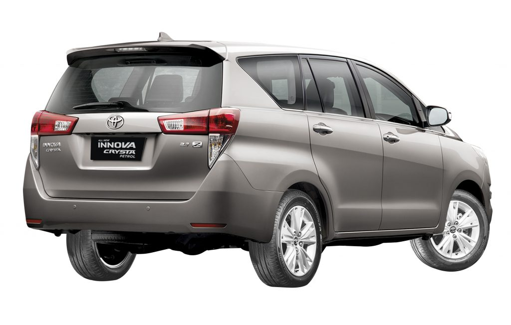 Toyota Innova Crysta Petrol Variant India Launch Commences