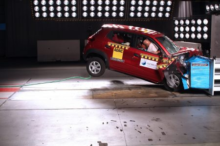 renault kwid airbag global ncap crash test
