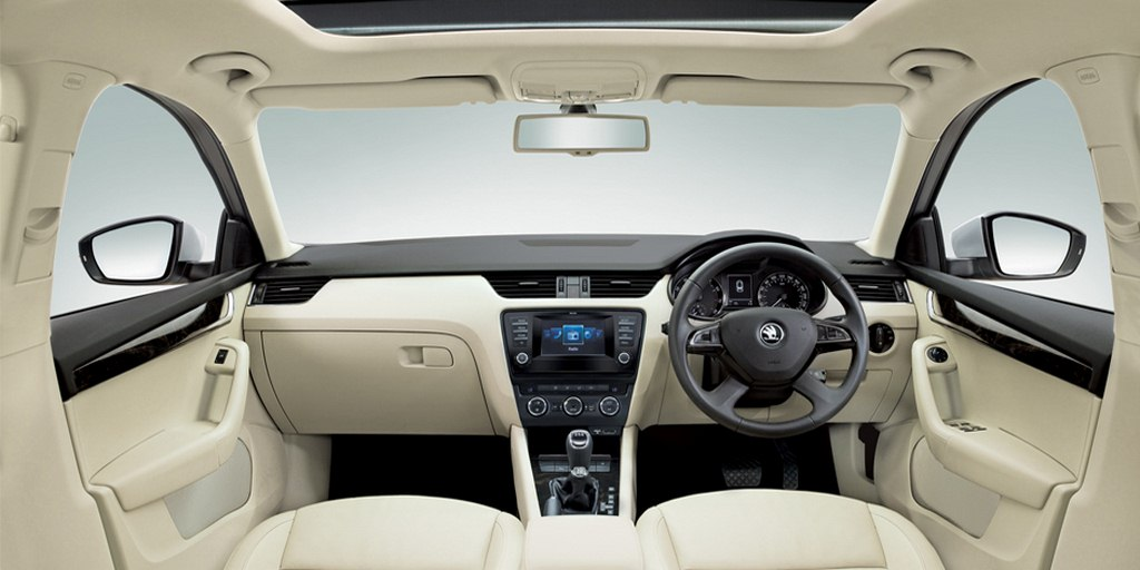 Skoda octavia ambition plus variant launched makes it for Skoda octavia interior