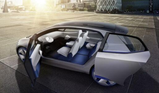 volkswagen i d concept interiors