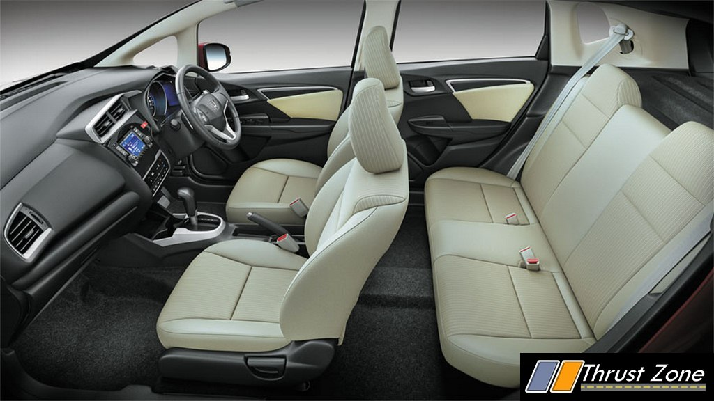 2015 honda jazz india latest details dual airbags added as standard. Black Bedroom Furniture Sets. Home Design Ideas