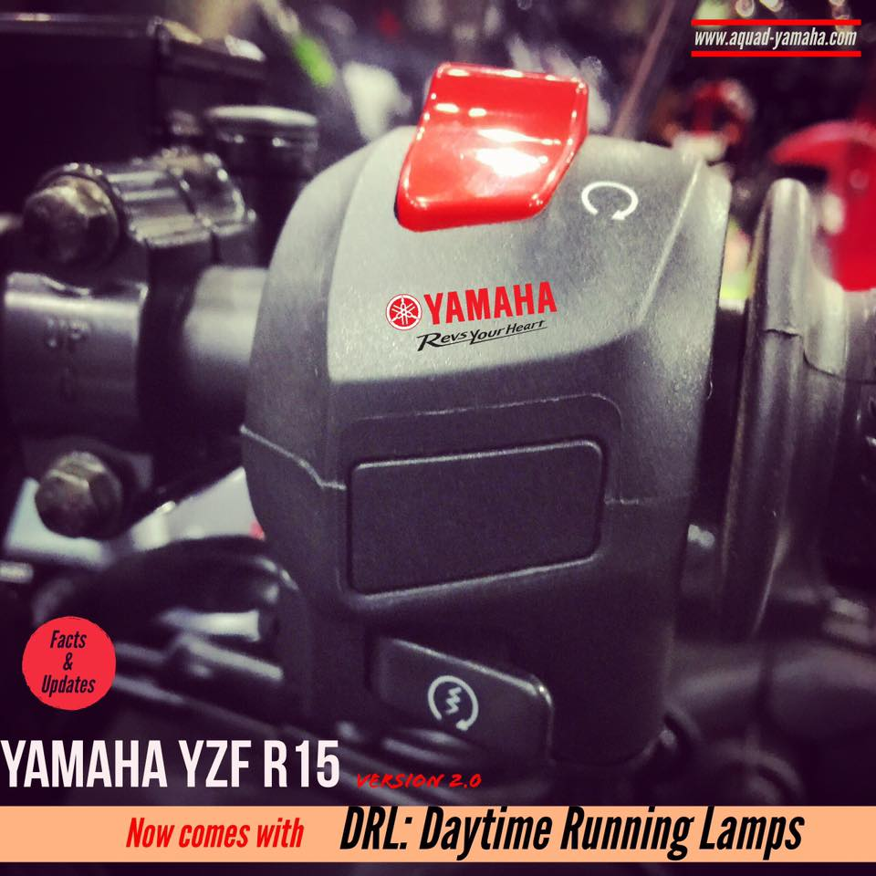2016 Yamaha R15 Gets Auto Headlamps On Feature Aho Headlight Yzf Switch Removed