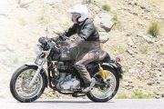 2017 Royal Enfield Continental GT ABS Spied Testing in Europe, Launch Soon!