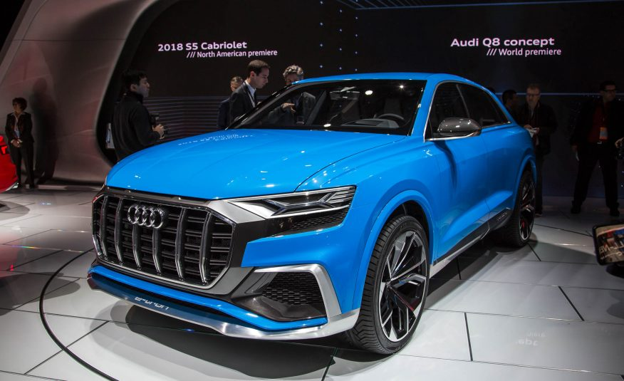 2018 Audi Q8 Concept Unveiled, Comes With 'Bombay Blue' Color Option Looks Intimidating