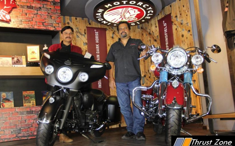 Indian Motorcycle Launches Chieftain Dark Horse and Springfield In Bengaluru