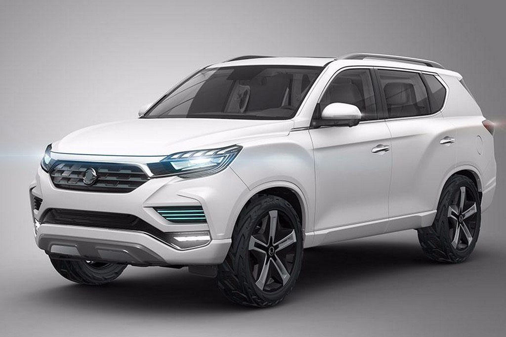 Mahindra Y400 Is A Fortuner/Endevaour Rival Will Be Made By SsangYong