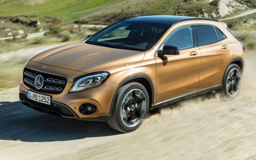 2017 Mercedes GLA Facelift Launch On 5'th July 2017