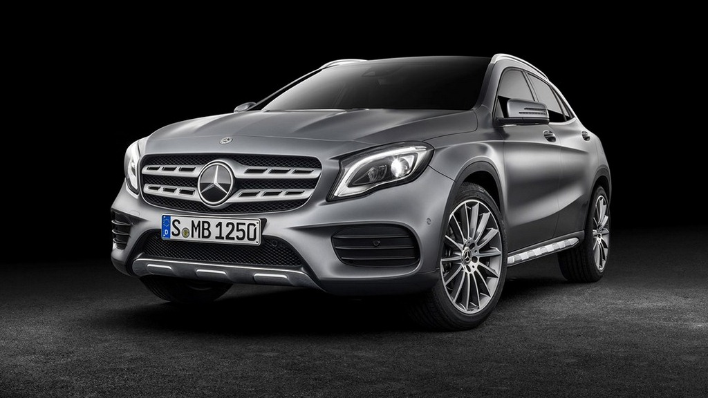 2017 Mercedes GLA Facelift Revealed, Substantial Changes To Keep It Going Strong