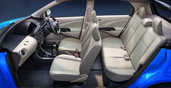 All new Toyota Etios Dual Tone Liva - Interior
