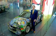 BMW Displays 13th Art Car in Country At The India Art Fair - Stunning All The Way!