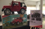 Battery Operated Mahindra Thar is the Toy your Kids need