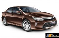 MY2017 Toyota Camry Hybrid Launched With More Features - Continues to Efficient and Powerful