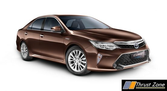MY2017 Toyota Camry Hybrid Launched