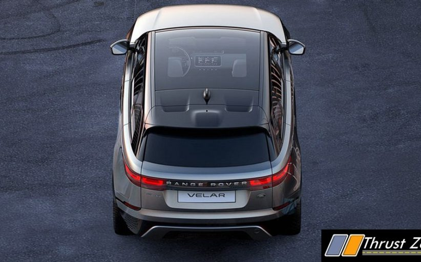 New Range Rover Velar Is A Coupe Version Of The SUV, Tends To Create New Segments