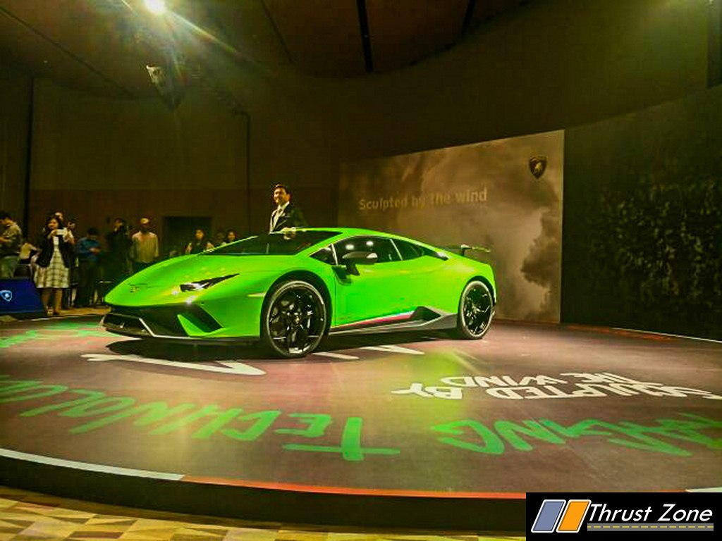 2018 new lamborghini huracan performante launched in india at rs crores. Black Bedroom Furniture Sets. Home Design Ideas