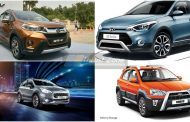 Honda WRV vs i20 Active Vs Etios Cross Vs Urban Cross - Specification Comparison