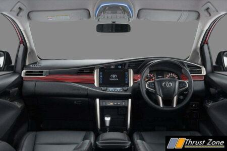 Innova Touring Sport Interior