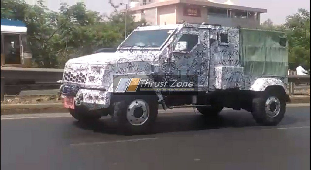 Exclusive 2018 Mahindra Marksman Spied Testing For The
