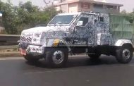 EXCLUSIVE! 2018 Mahindra Marksman Spied Testing For The First Time!