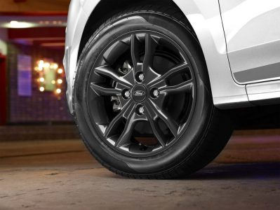 All-New Black Alloys Ford Figo Sports Edition