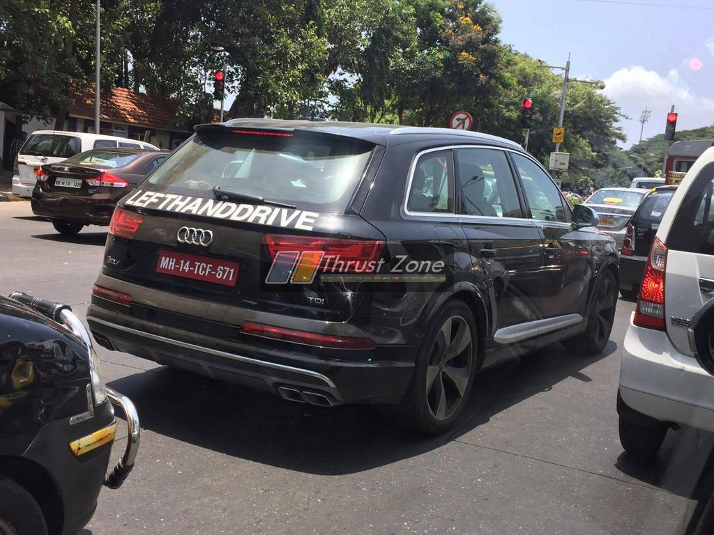 Audi SQ Testing In India Continues Launch Unconfirmed For - Audi sq7