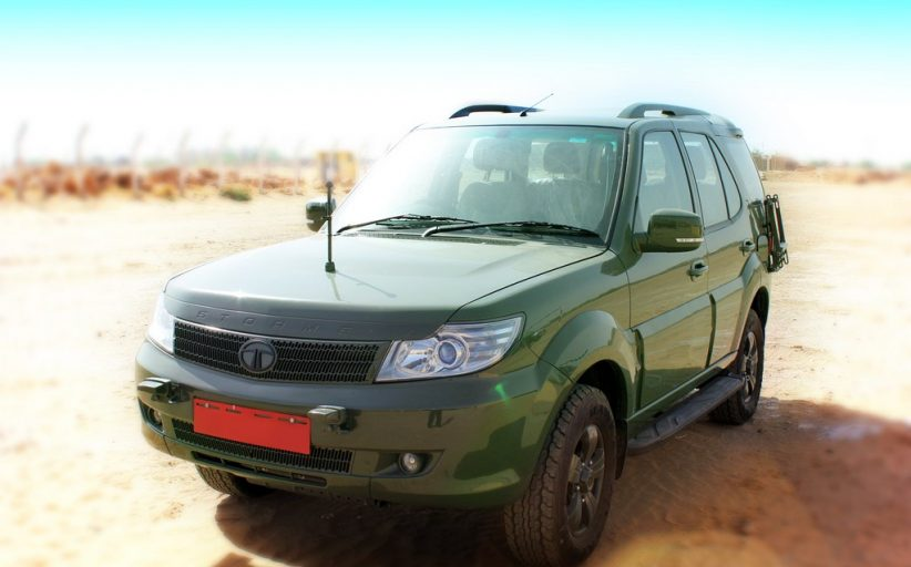 Tata Safari GS800 Is The Official Vehicle Of The Armed Forces - Replaces Maruti Gypsy