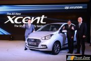 2017 Hyundai Xcent Facelift Launched in India At Rs. 5.38 Lakhs