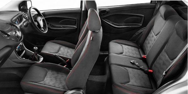 Interiors - Ford Figo Sports Edition