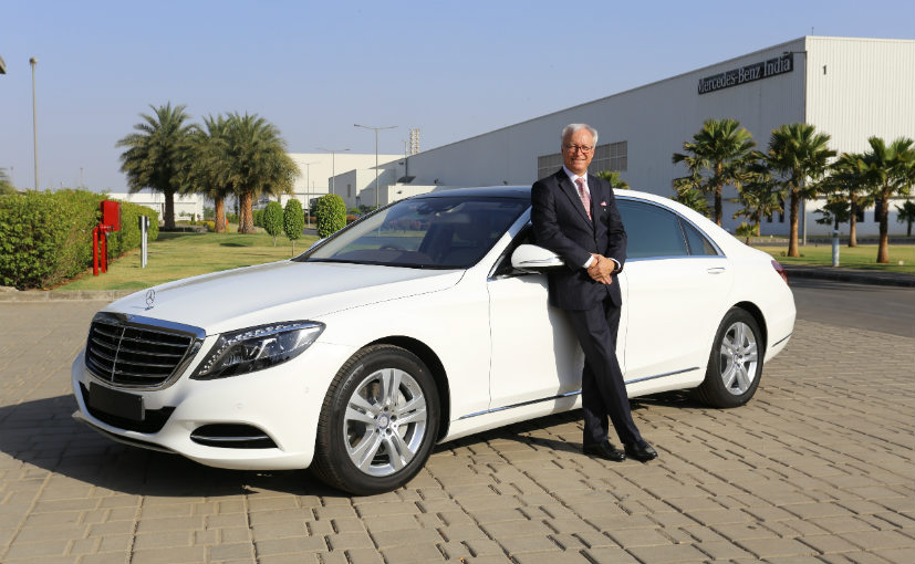 Mercedes benz s class connoisseur s edition launched in for What country is mercedes benz from
