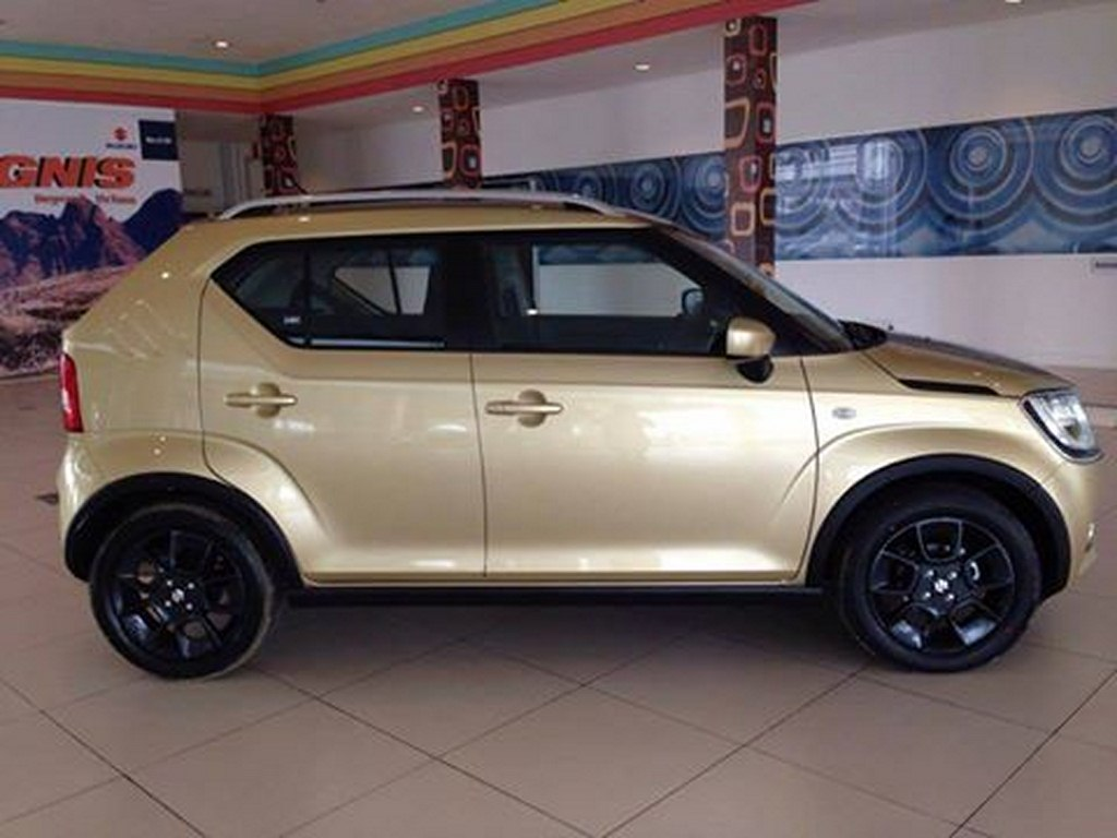 Maruti Suzuki Ignis Gold Color Spotted Could It Be Launched Soon
