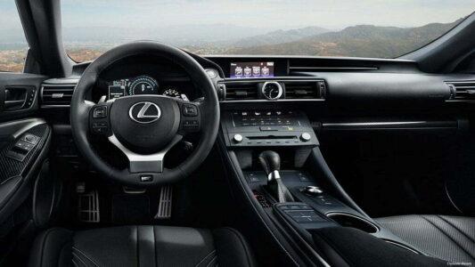 Lexus-RCF-india-launch-interior