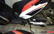 2017 Aprilia SR125 In The Making - Spied For The First Time