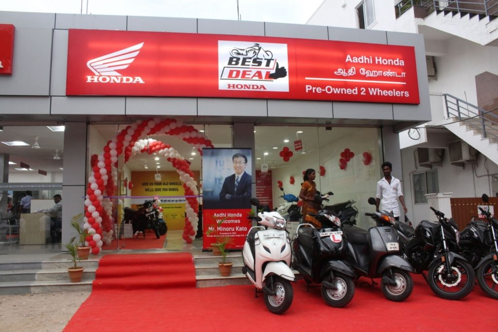 150th Best Deal, Aadhi Honda at Coimbatore, Tamil Nadu