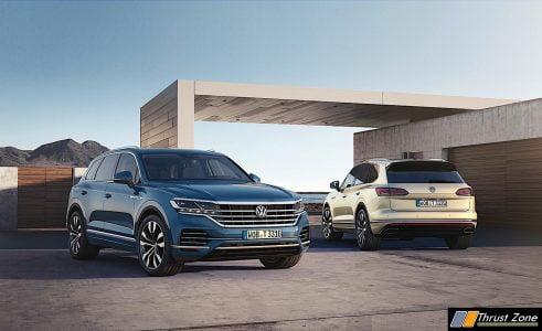 2018 Volkswagen Touareg India Launch (1)