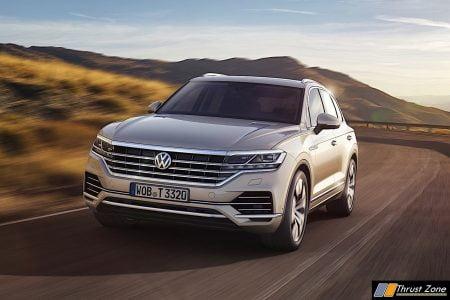 2018 Volkswagen Touareg India Launch (2)