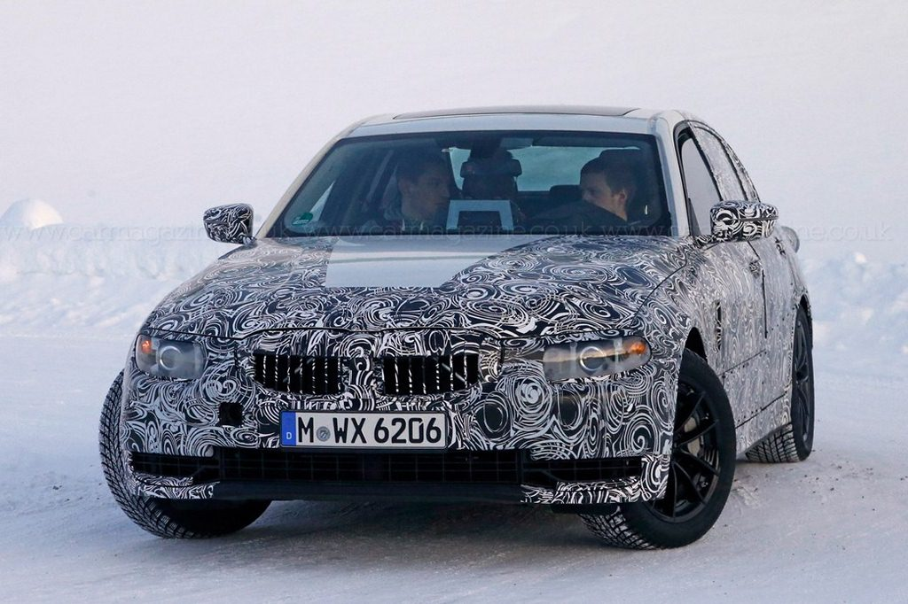 Mercedes G Series 2018 >> 2019 Next Gen BMW 3-Series G20 Spied For The First Time - Interior Revealed Already!